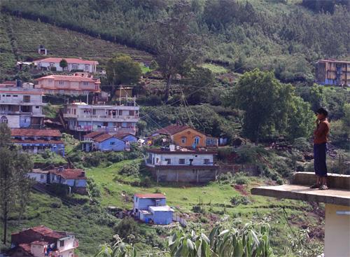 Kotagiri i Nilgiris-bergen